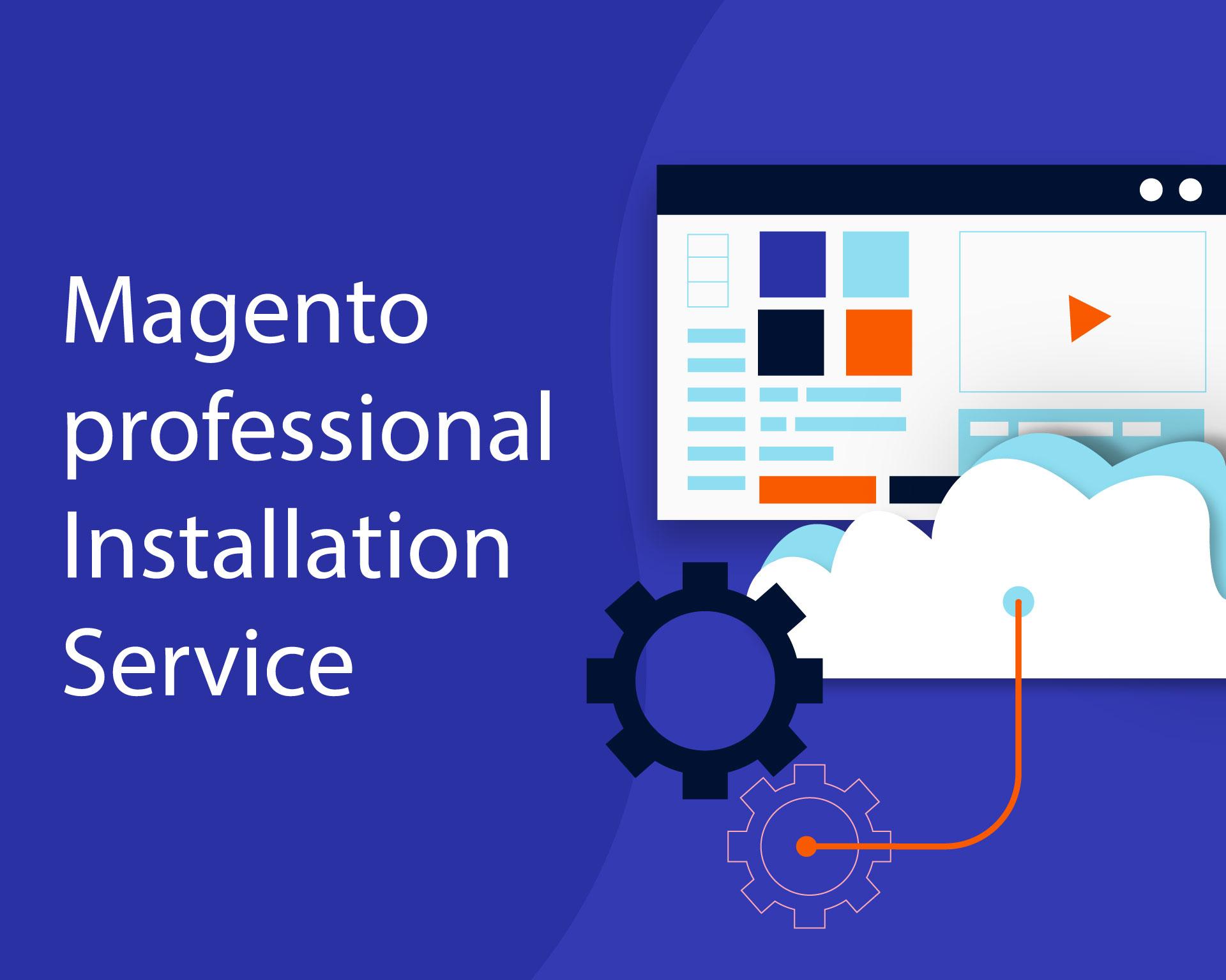 Magento Professional Installation Service